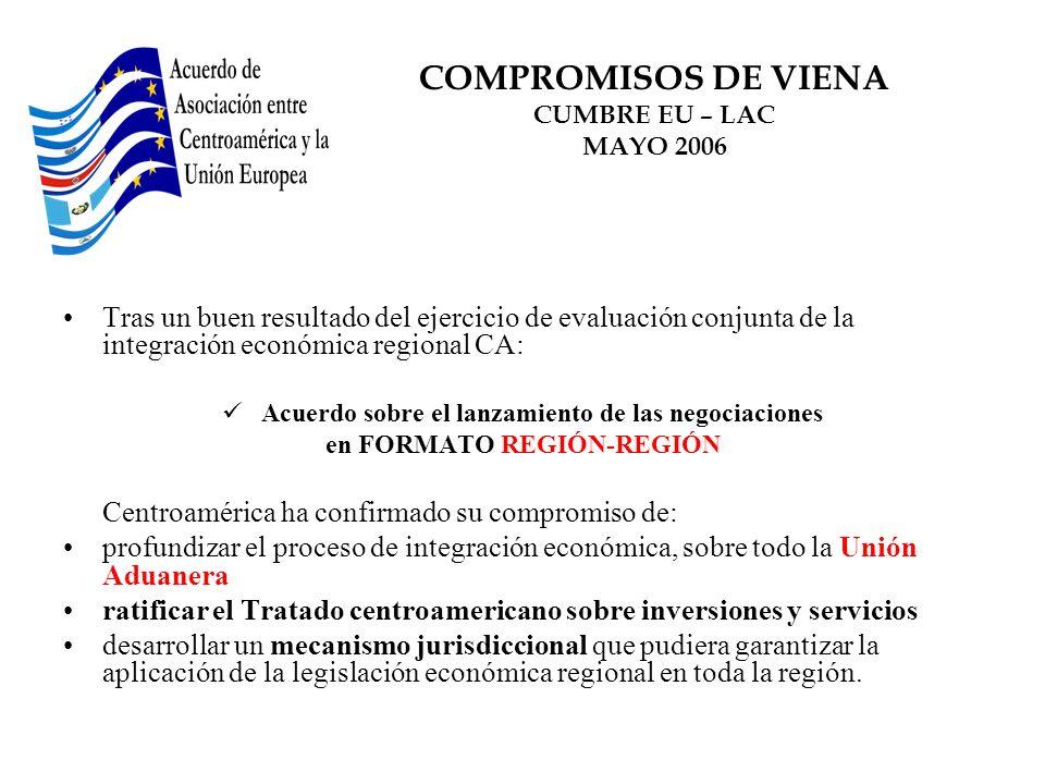 COMPROMISOS DE VIENA CUMBRE EU – LAC MAYO 2006