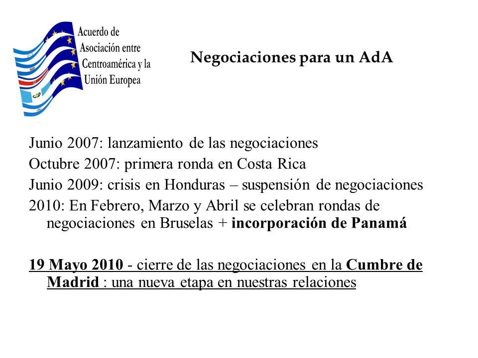 Negociaciones para un AdA