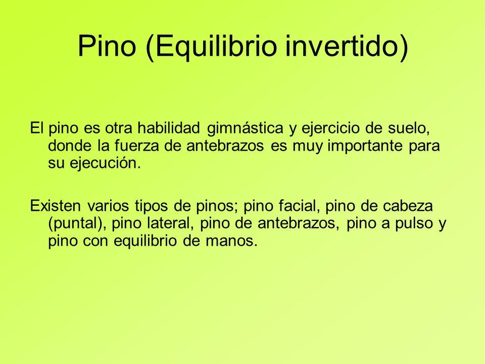 Pino (Equilibrio invertido)