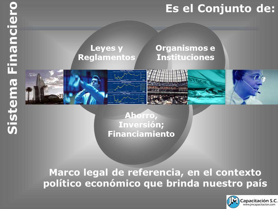 Organismos e Instituciones Inversión; Financiamiento