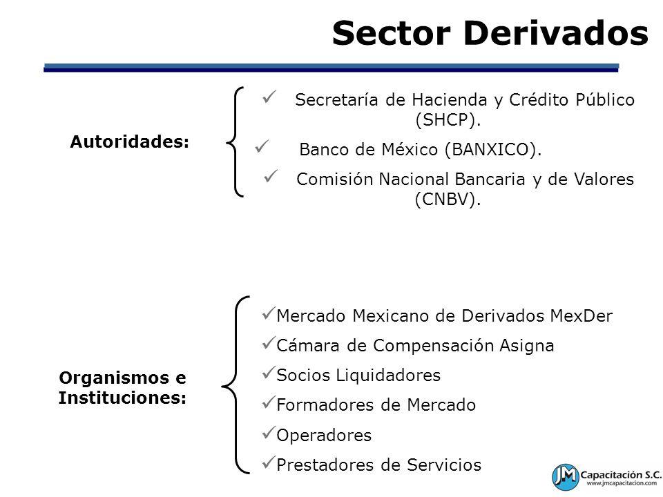 Organismos e Instituciones: