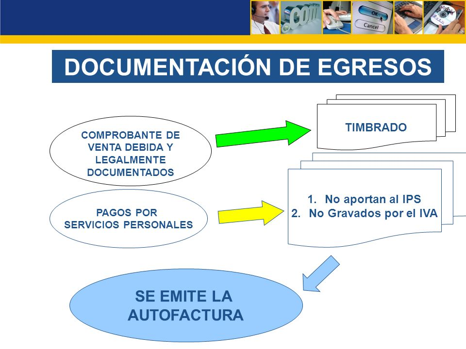DOCUMENTACIÓN DE EGRESOS