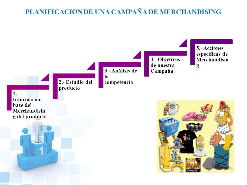 PLANIFICACION DE UNA CAMPAÑA DE MERCHANDISING