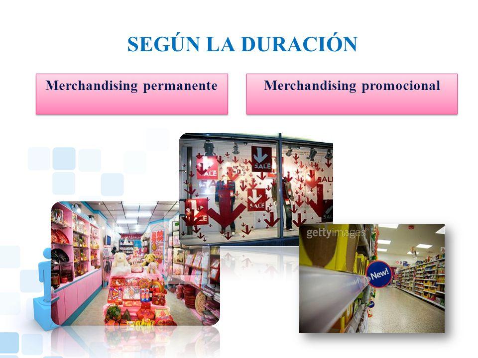 Merchandising permanente Merchandising promocional