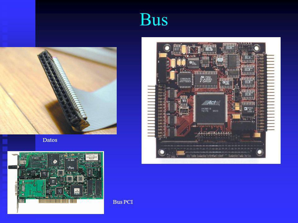 Bus Datos Bus PCI