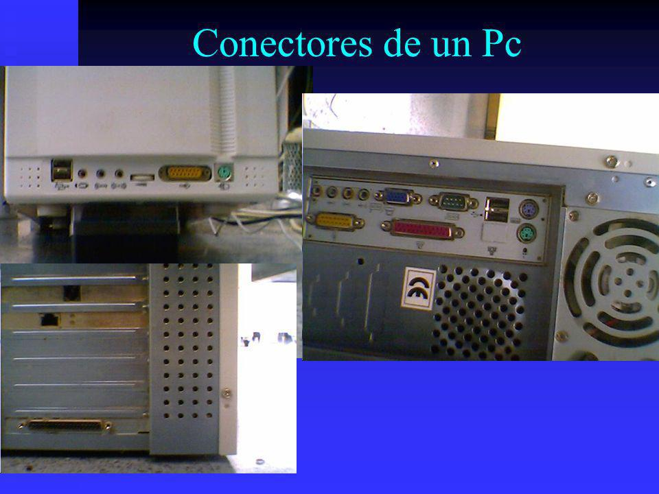 Conectores de un Pc