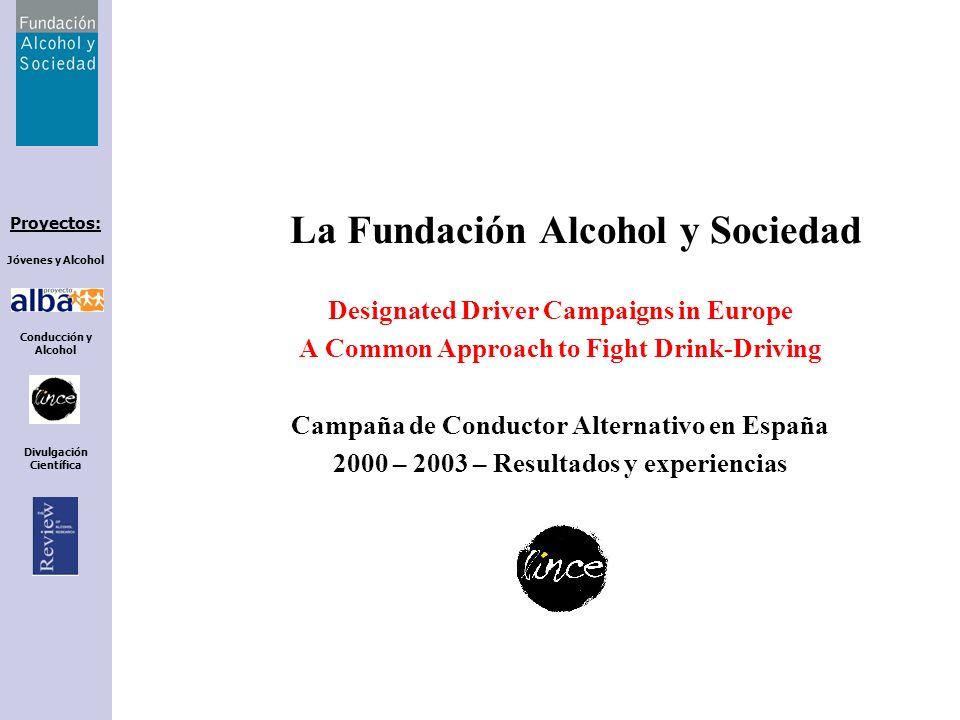 La Fundación Alcohol y Sociedad