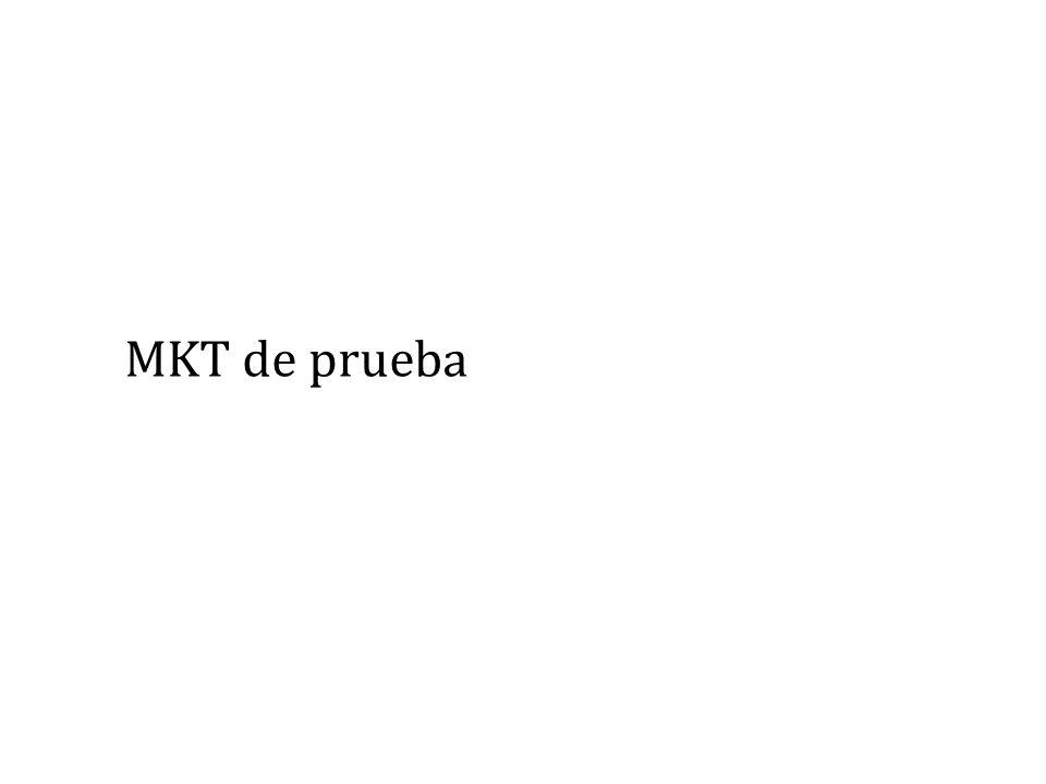 MKT de prueba