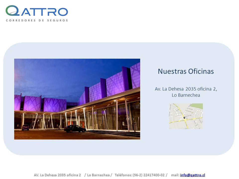 Av. La Dehesa 2035 oficina 2, Lo Barnechea