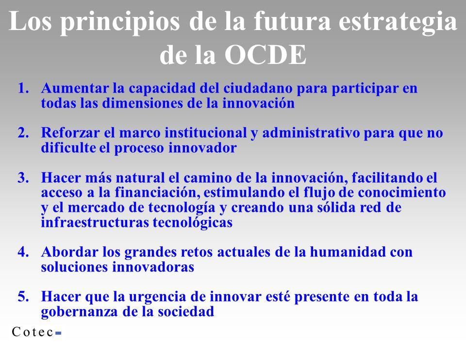 Los principios de la futura estrategia de la OCDE