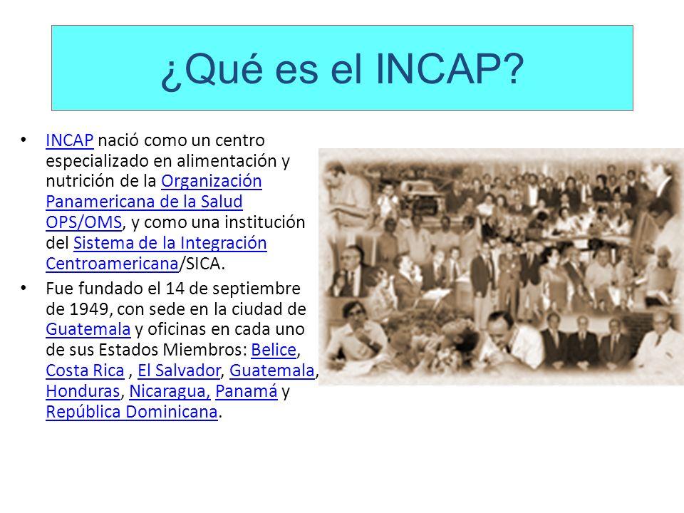 ¿Qué es el INCAP