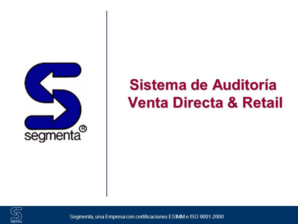 Sistema de Auditoría Venta Directa & Retail