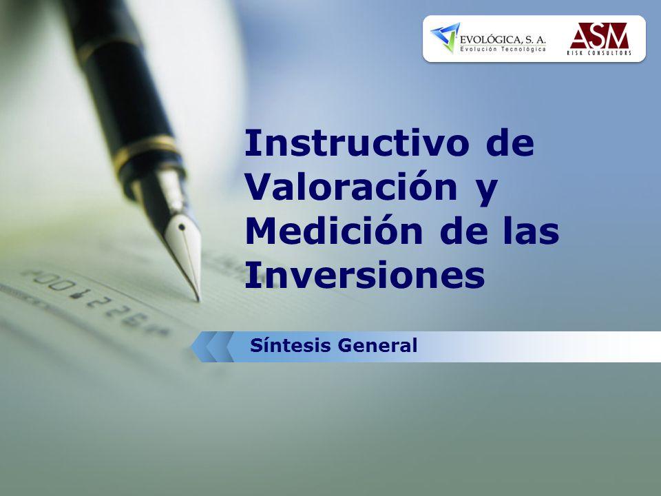 Instructivo de Valoración y Medición de las Inversiones