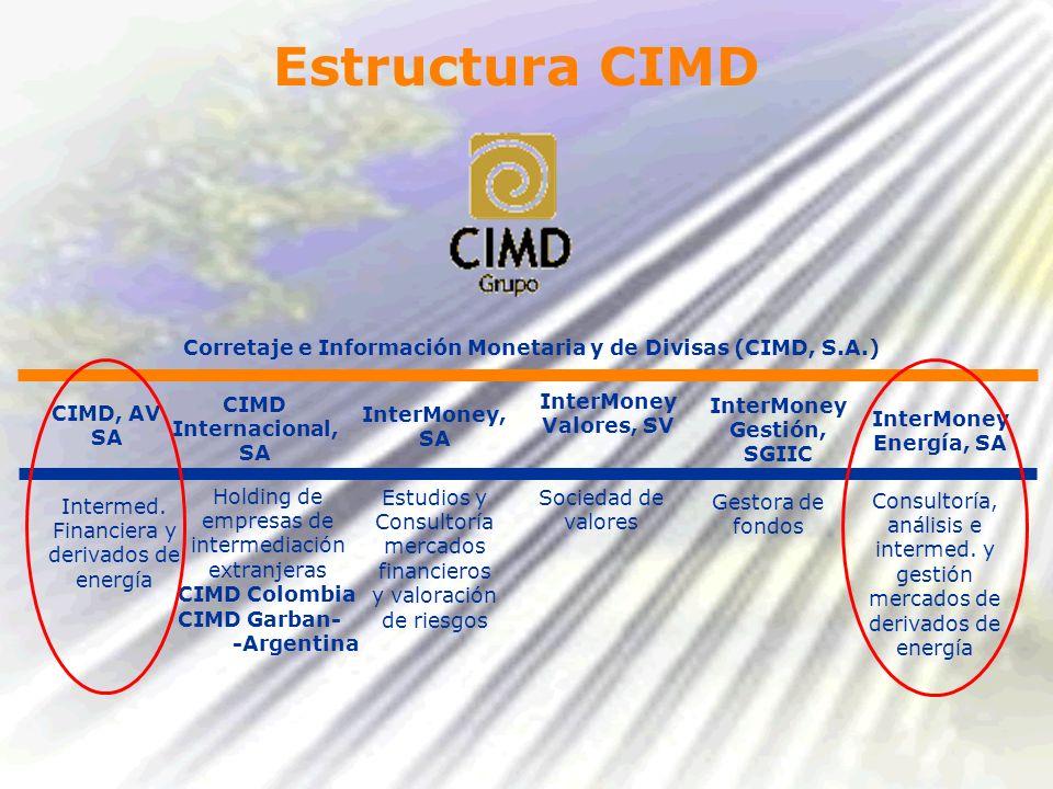 Corretaje e Información Monetaria y de Divisas (CIMD, S.A.)