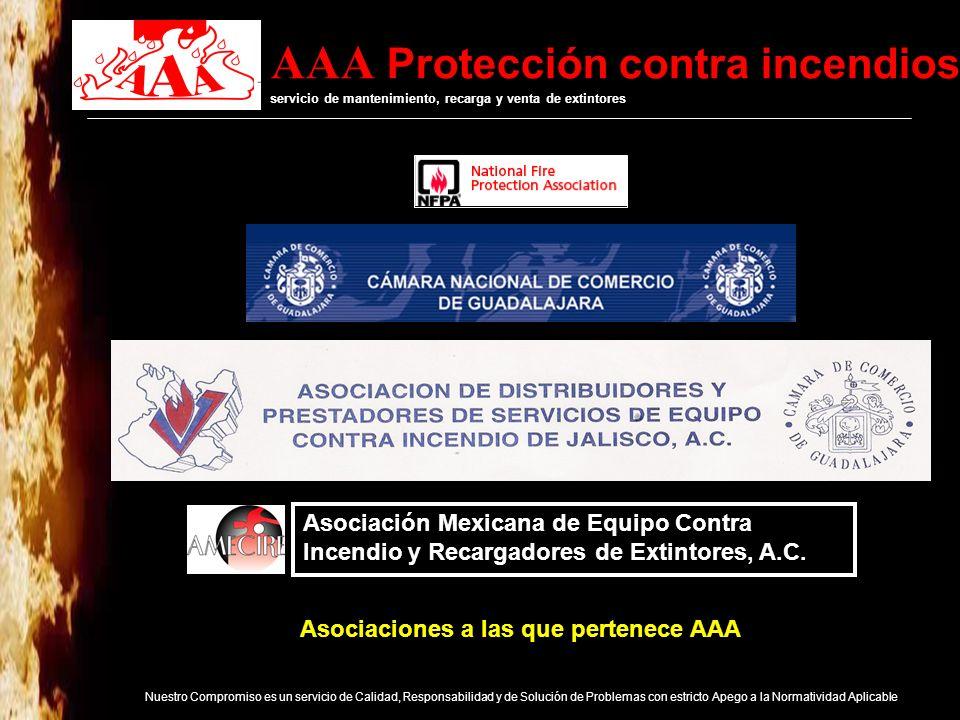 Asociaciones a las que pertenece AAA
