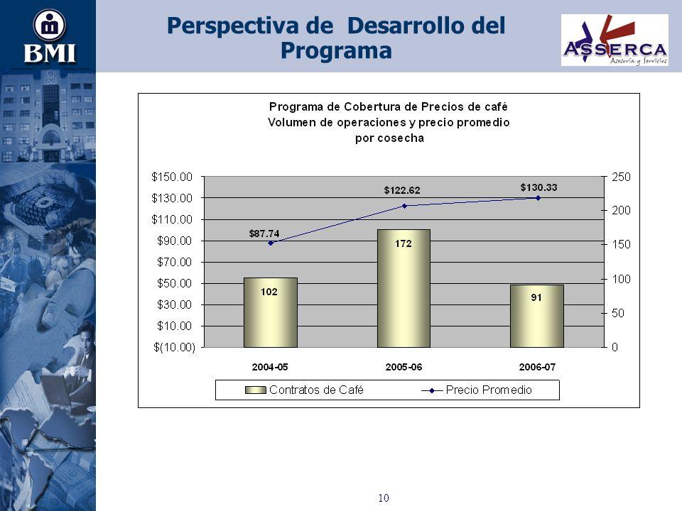 Perspectiva de Desarrollo del Programa