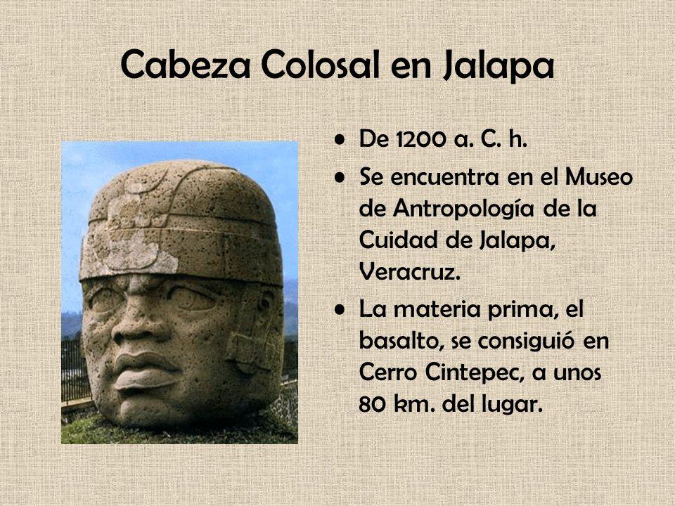 Cabeza Colosal en Jalapa