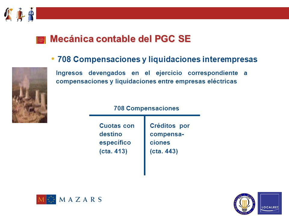Mecánica contable del PGC SE