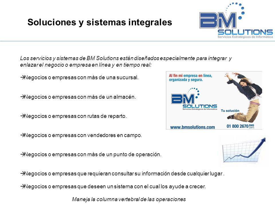 Soluciones y sistemas integrales