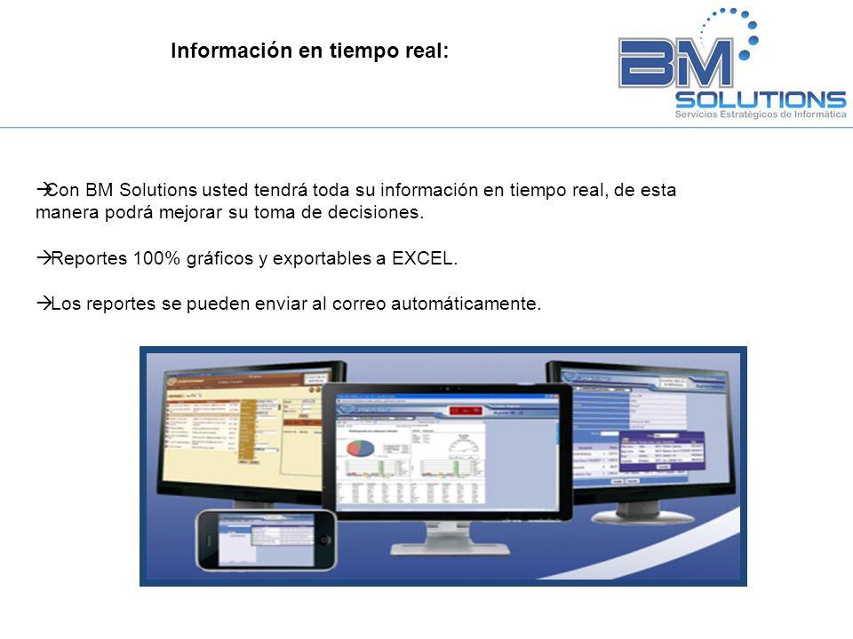 Información en tiempo real: