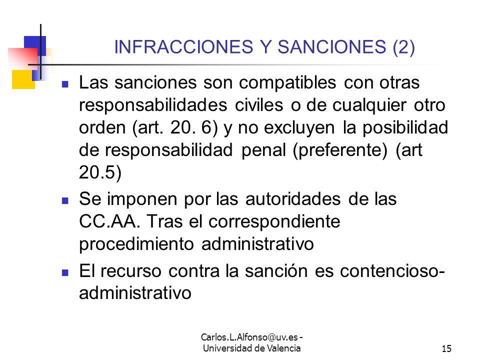 INFRACCIONES Y SANCIONES (2)