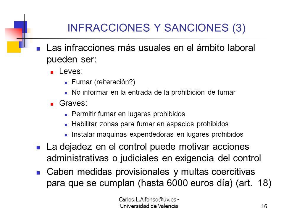 INFRACCIONES Y SANCIONES (3)