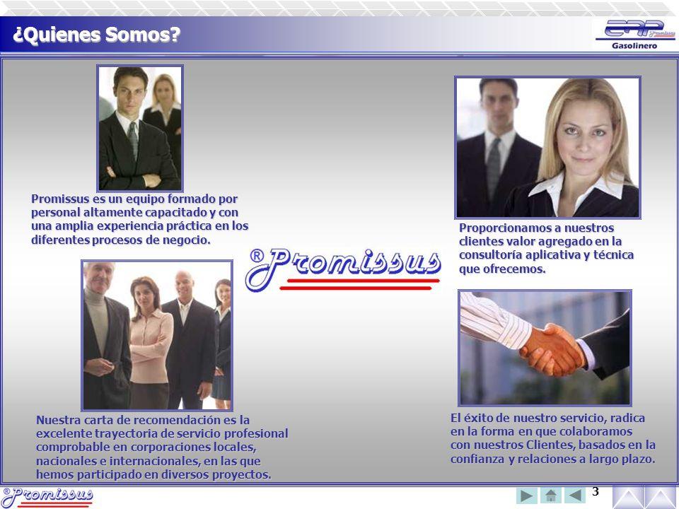 ¿Quienes Somos Promissus es un equipo formado por