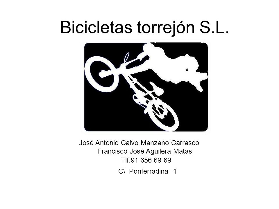 Bicicletas torrejón S.L.