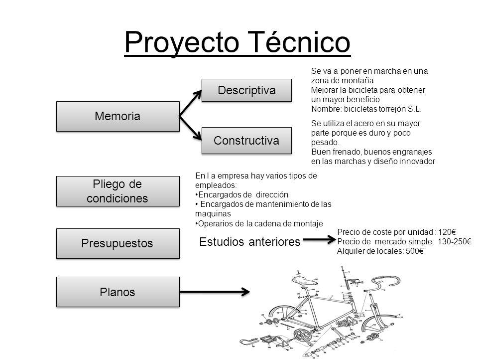 Proyecto Técnico Descriptiva Memoria Constructiva