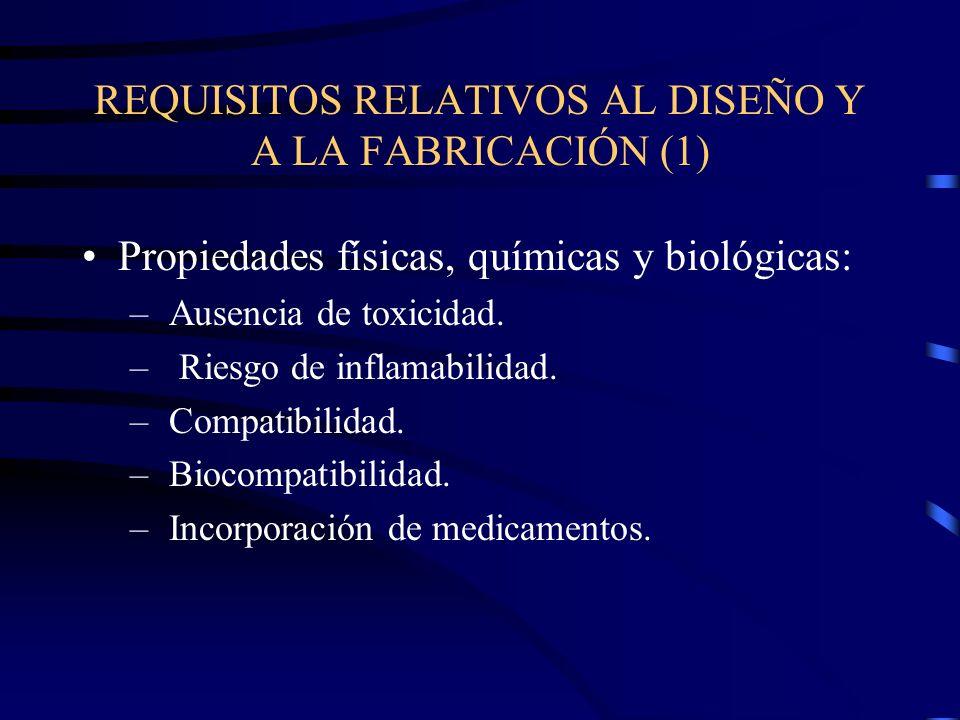 REQUISITOS RELATIVOS AL DISEÑO Y A LA FABRICACIÓN (1)