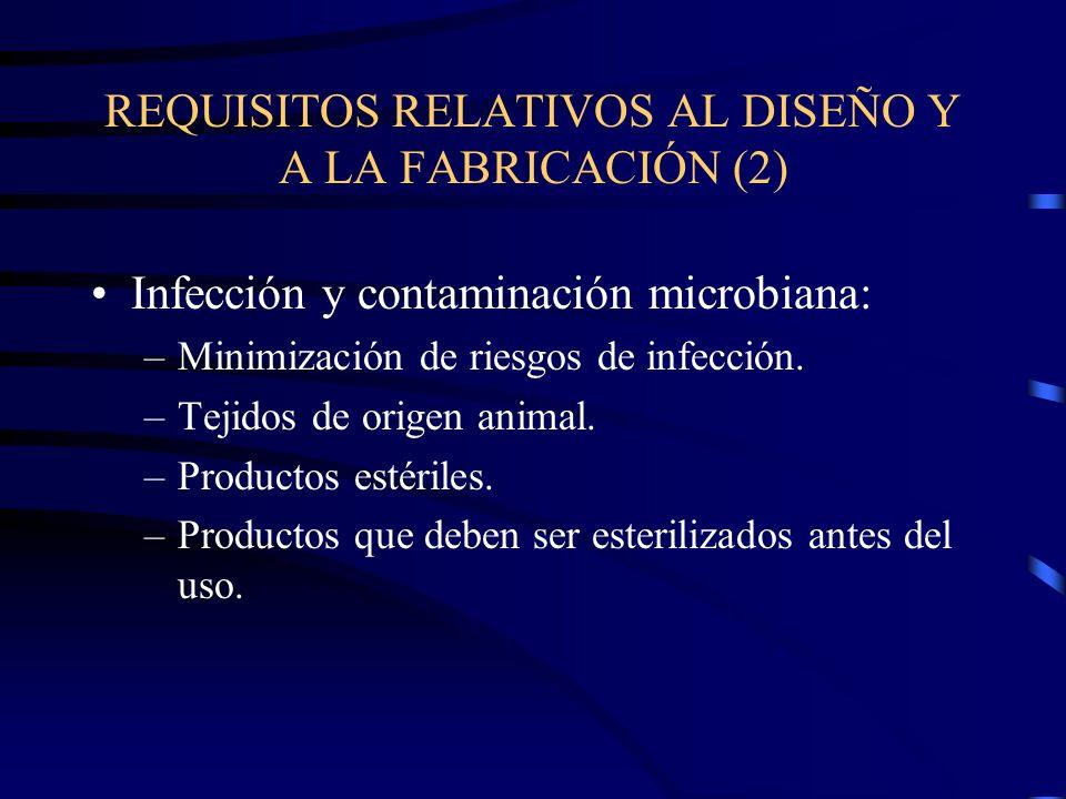 REQUISITOS RELATIVOS AL DISEÑO Y A LA FABRICACIÓN (2)