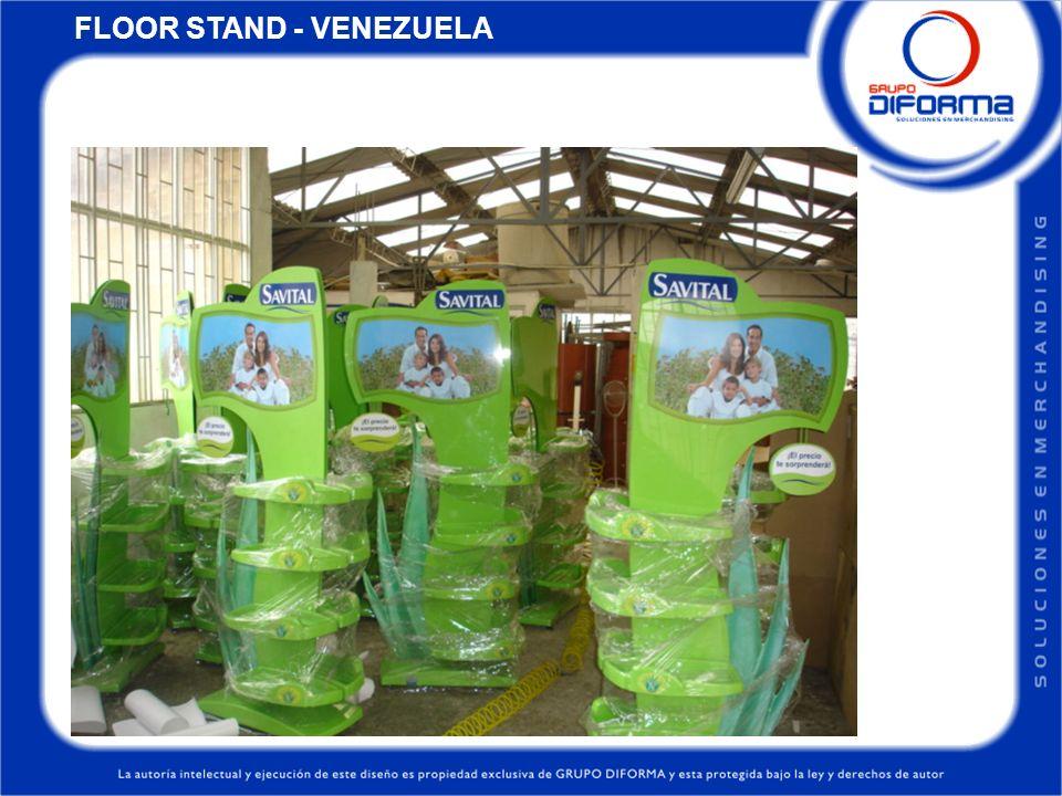 FLOOR STAND - VENEZUELA