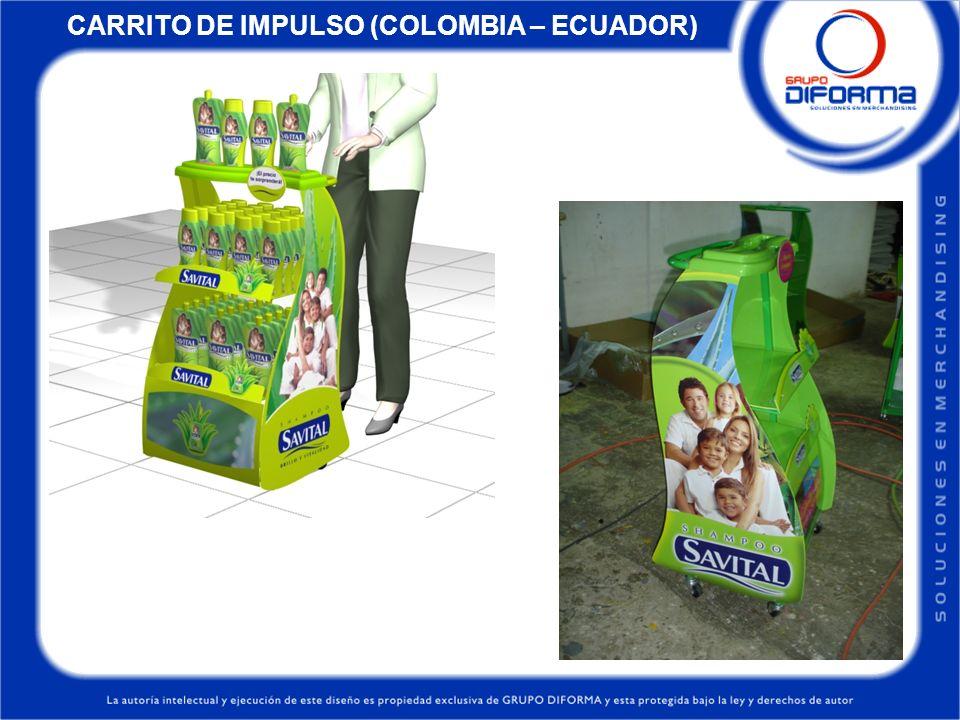 CARRITO DE IMPULSO (COLOMBIA – ECUADOR)