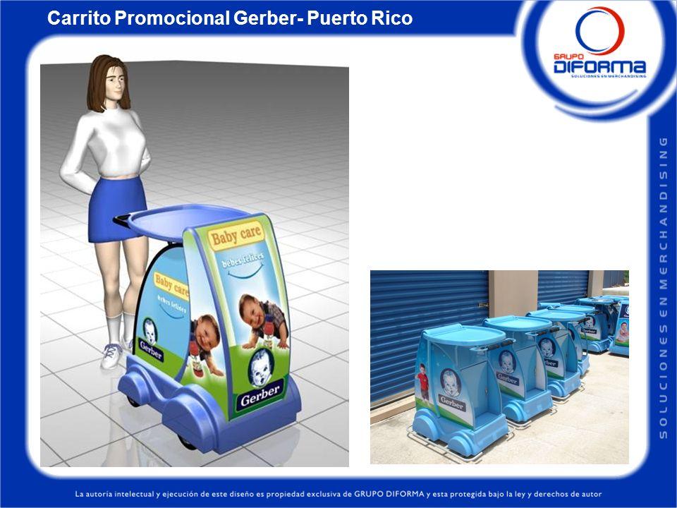 Carrito Promocional Gerber- Puerto Rico