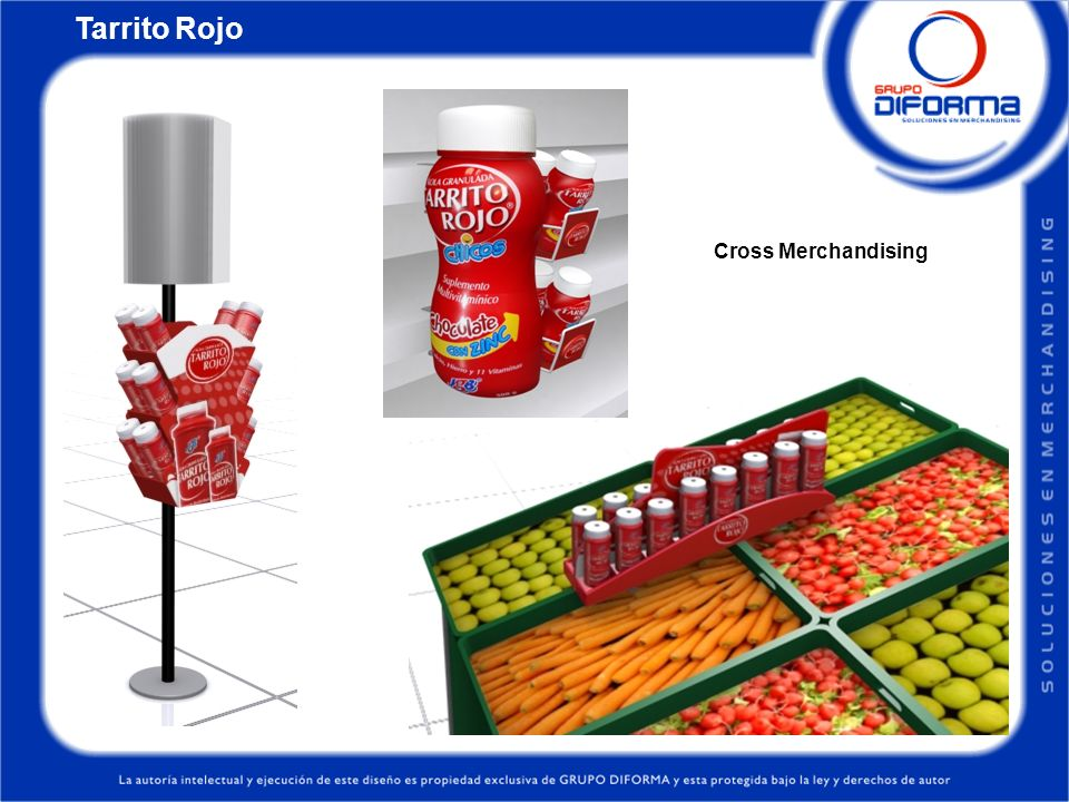Tarrito Rojo Cross Merchandising