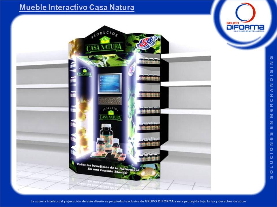 Mueble Interactivo Casa Natura