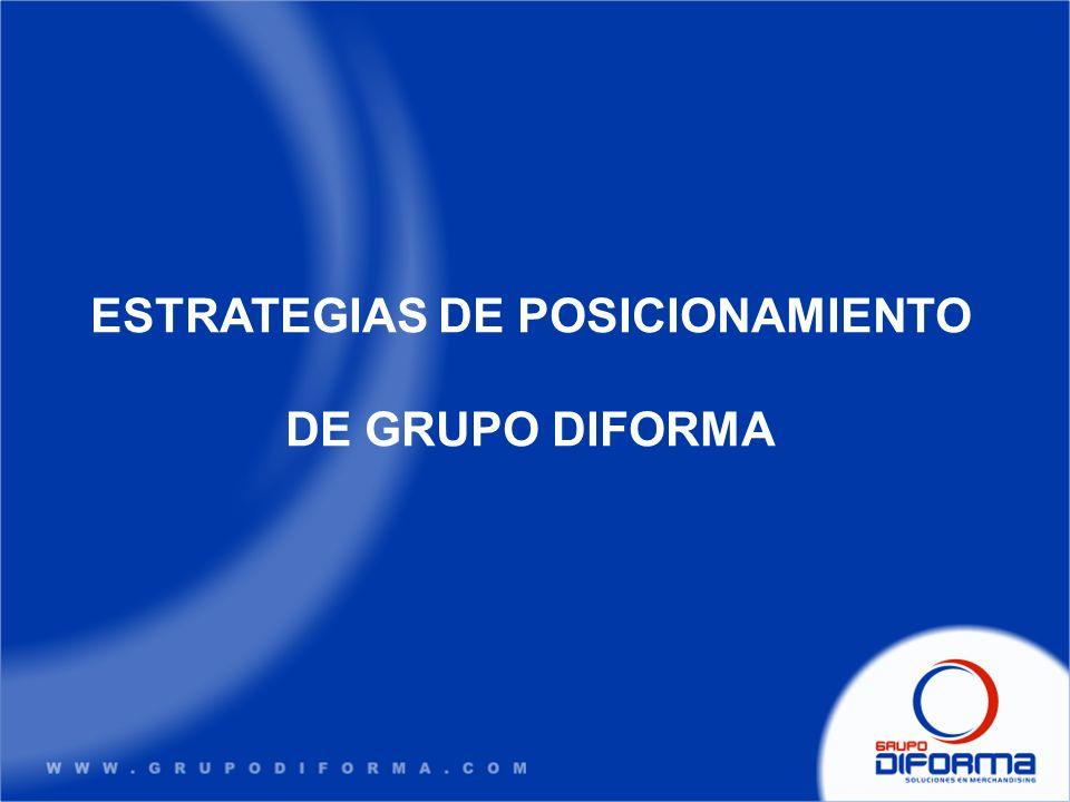 ESTRATEGIAS DE POSICIONAMIENTO DE GRUPO DIFORMA