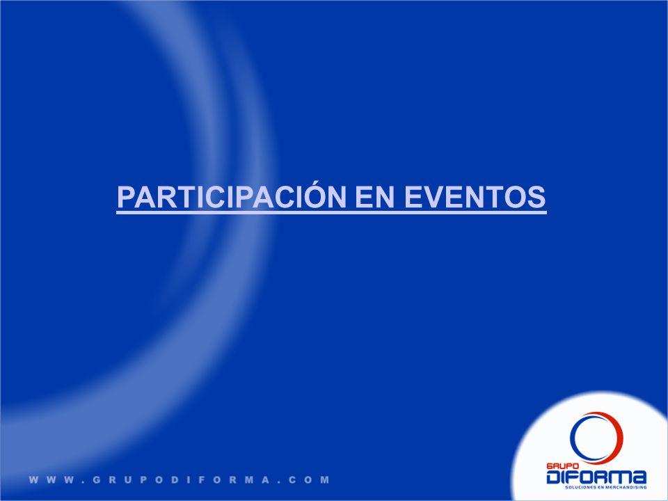PARTICIPACIÓN EN EVENTOS