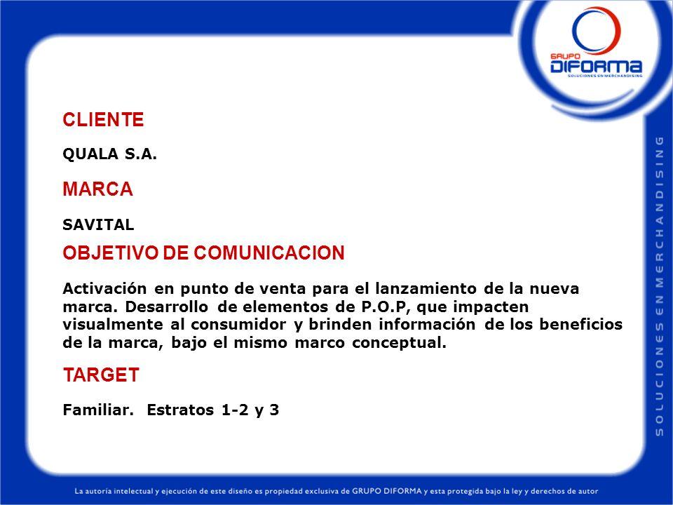 OBJETIVO DE COMUNICACION