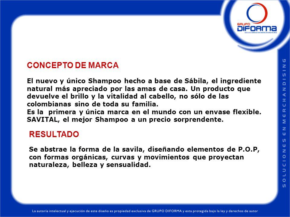 CONCEPTO DE MARCA RESULTADO