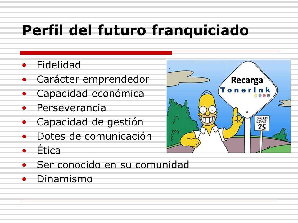 Perfil del futuro franquiciado