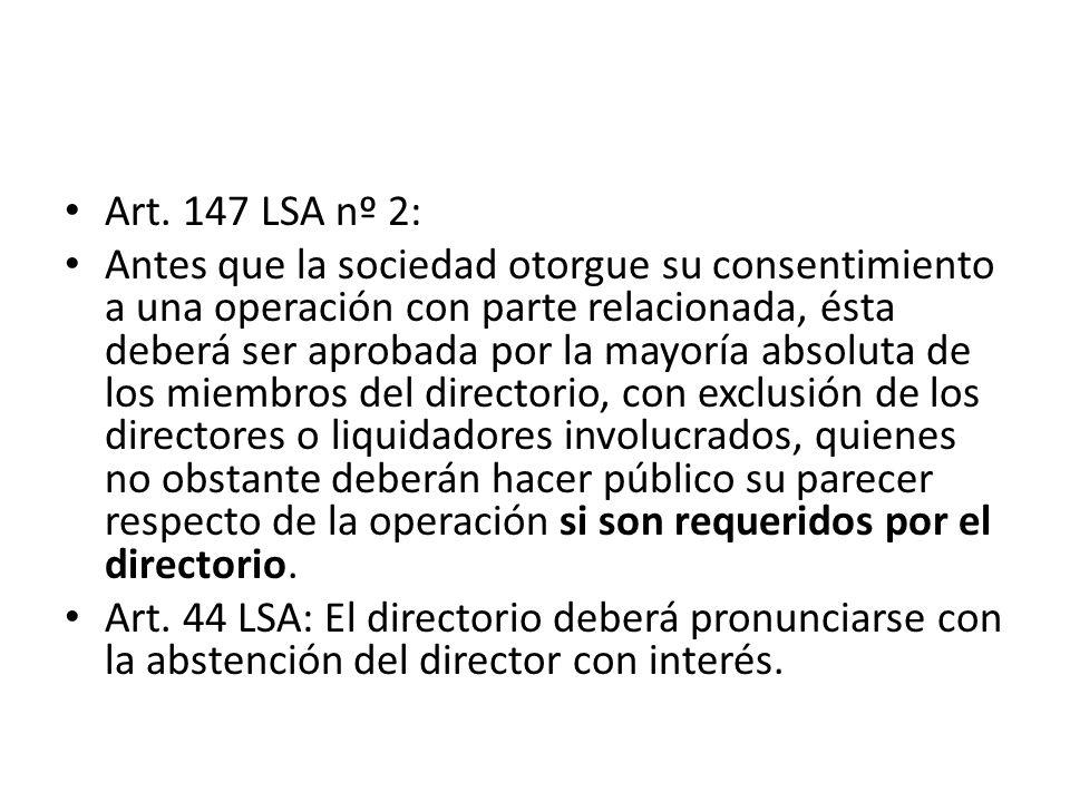 Art. 147 LSA nº 2: