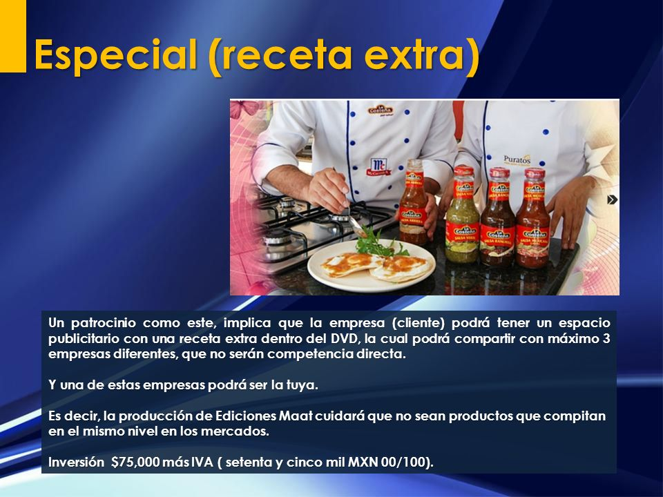 Especial (receta extra)
