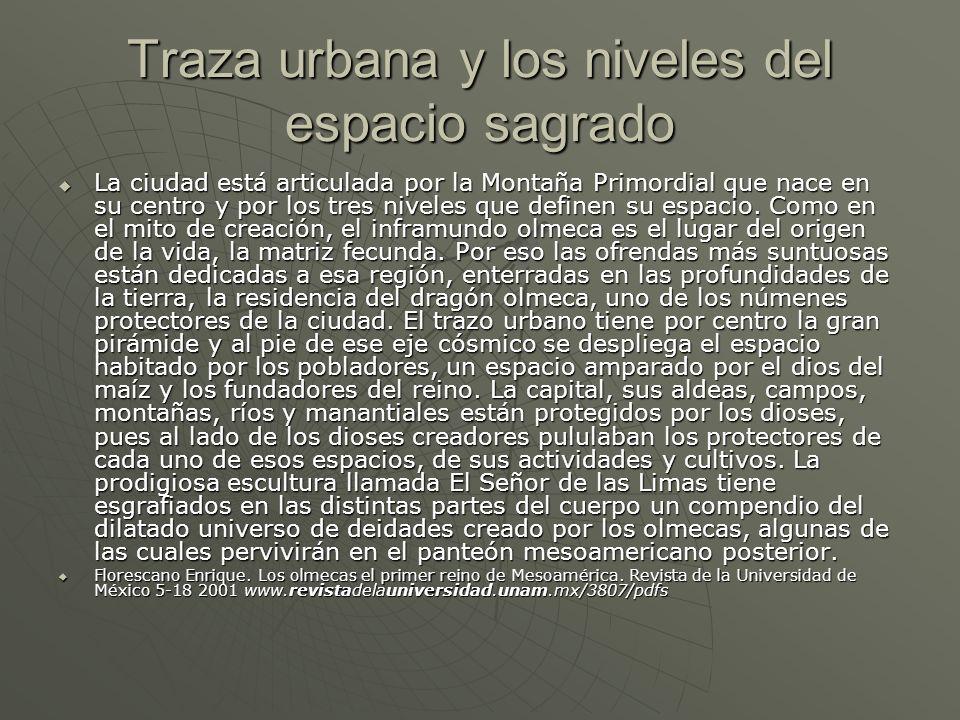 Traza urbana y los niveles del espacio sagrado