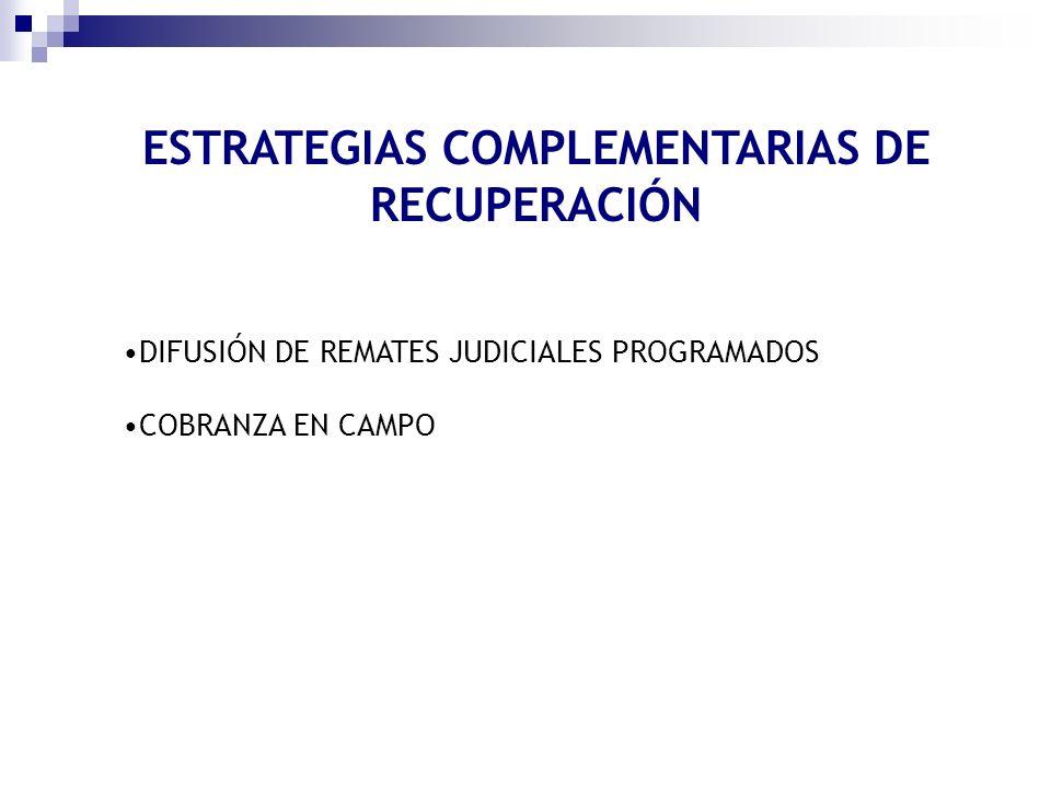 ESTRATEGIAS COMPLEMENTARIAS DE RECUPERACIÓN