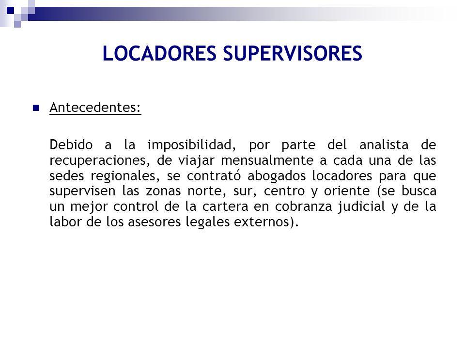 LOCADORES SUPERVISORES