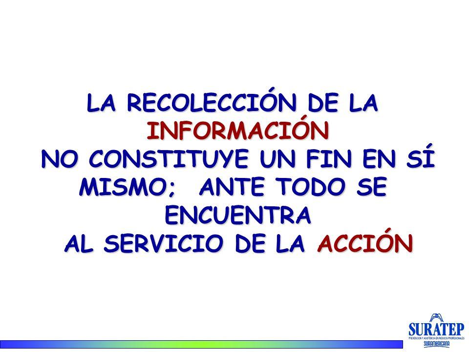 NO CONSTITUYE UN FIN EN SÍ AL SERVICIO DE LA ACCIÓN
