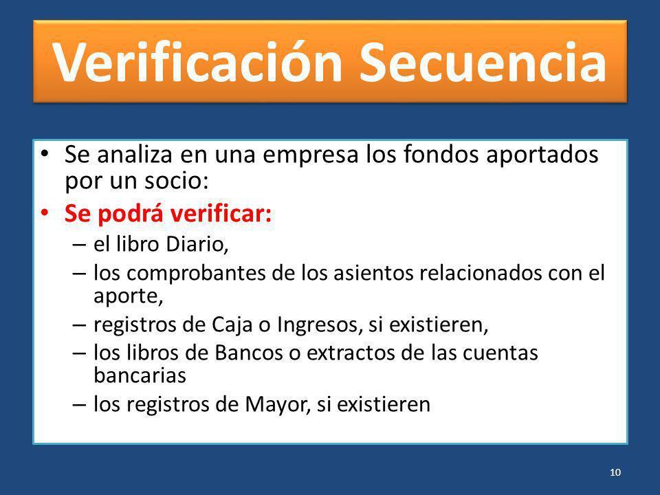 Verificación Secuencia
