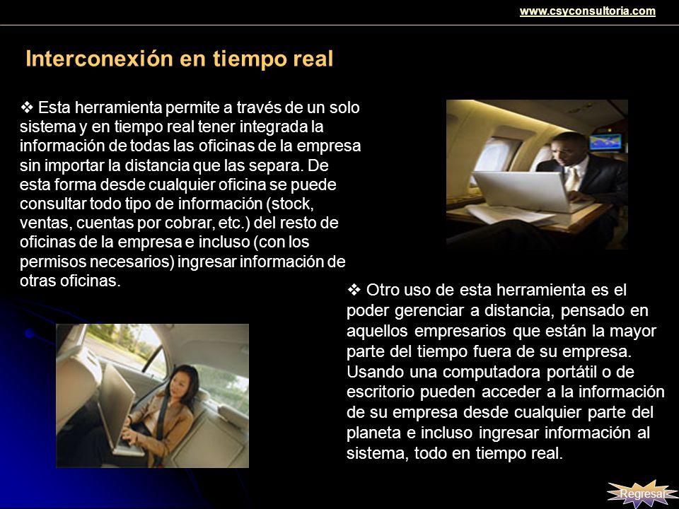 Interconexión en tiempo real