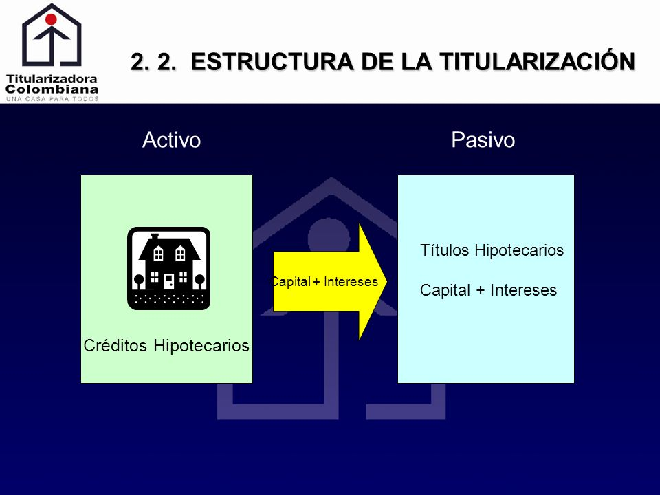 2. 2. ESTRUCTURA DE LA TITULARIZACIÓN
